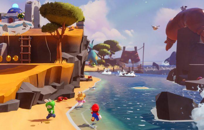 Mario + Rabbids Sparks Of Hope Gameplay Screenshot