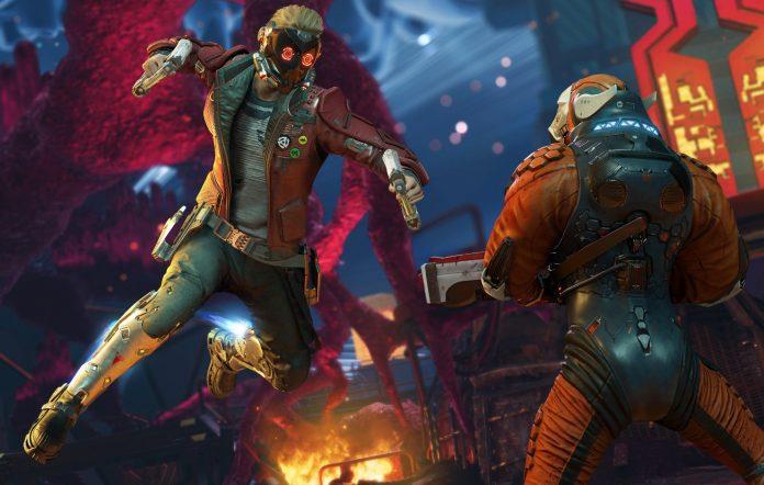 Marvel's Guardians Of The Galaxy combat Screenshot