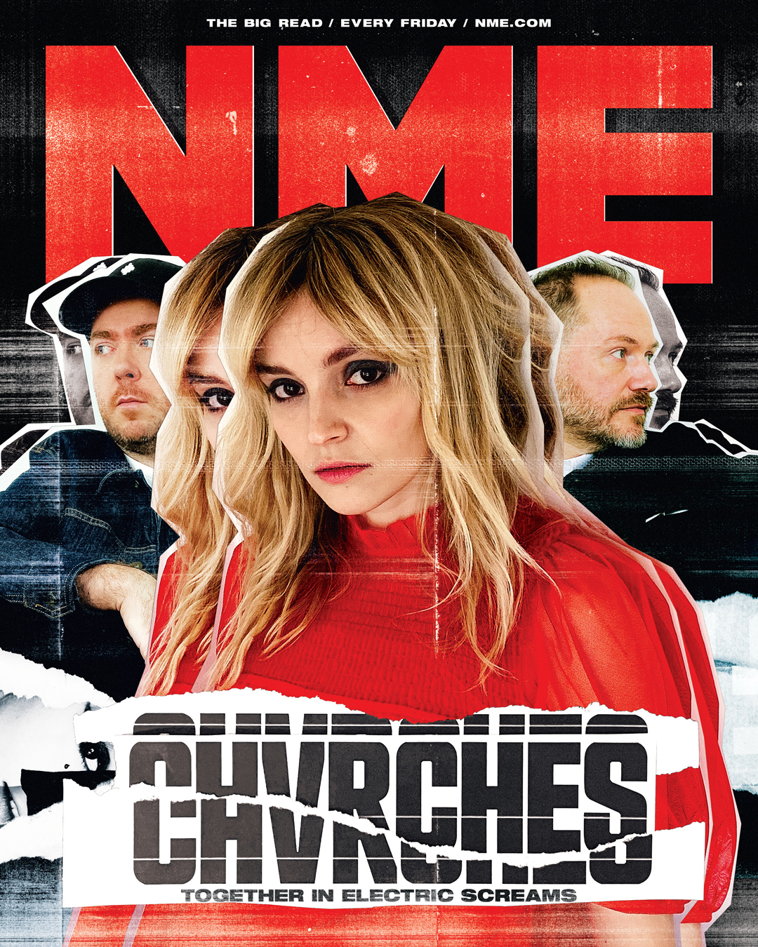 NME Cover 2021 Chvrches