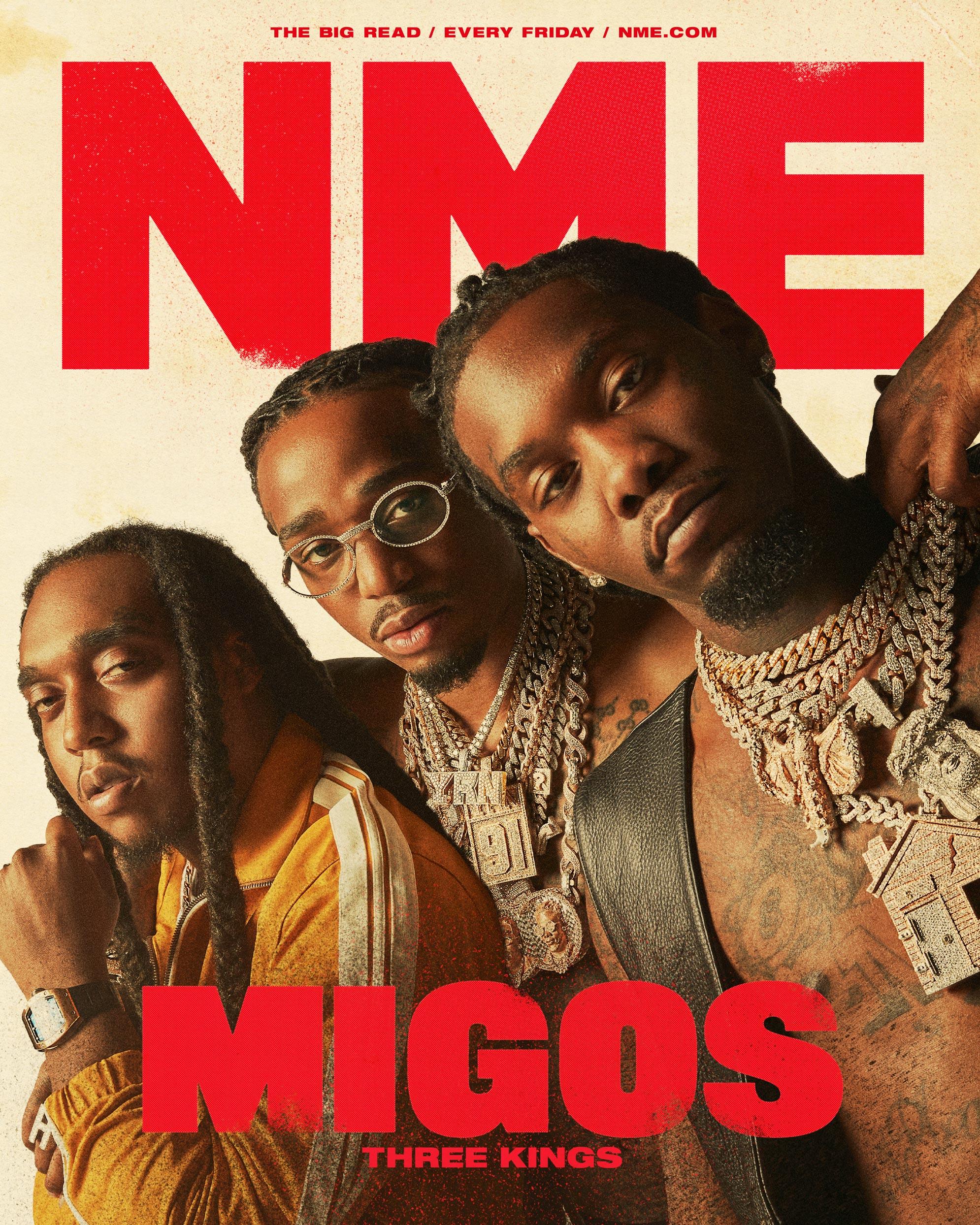 NME Cover 2021 Migos