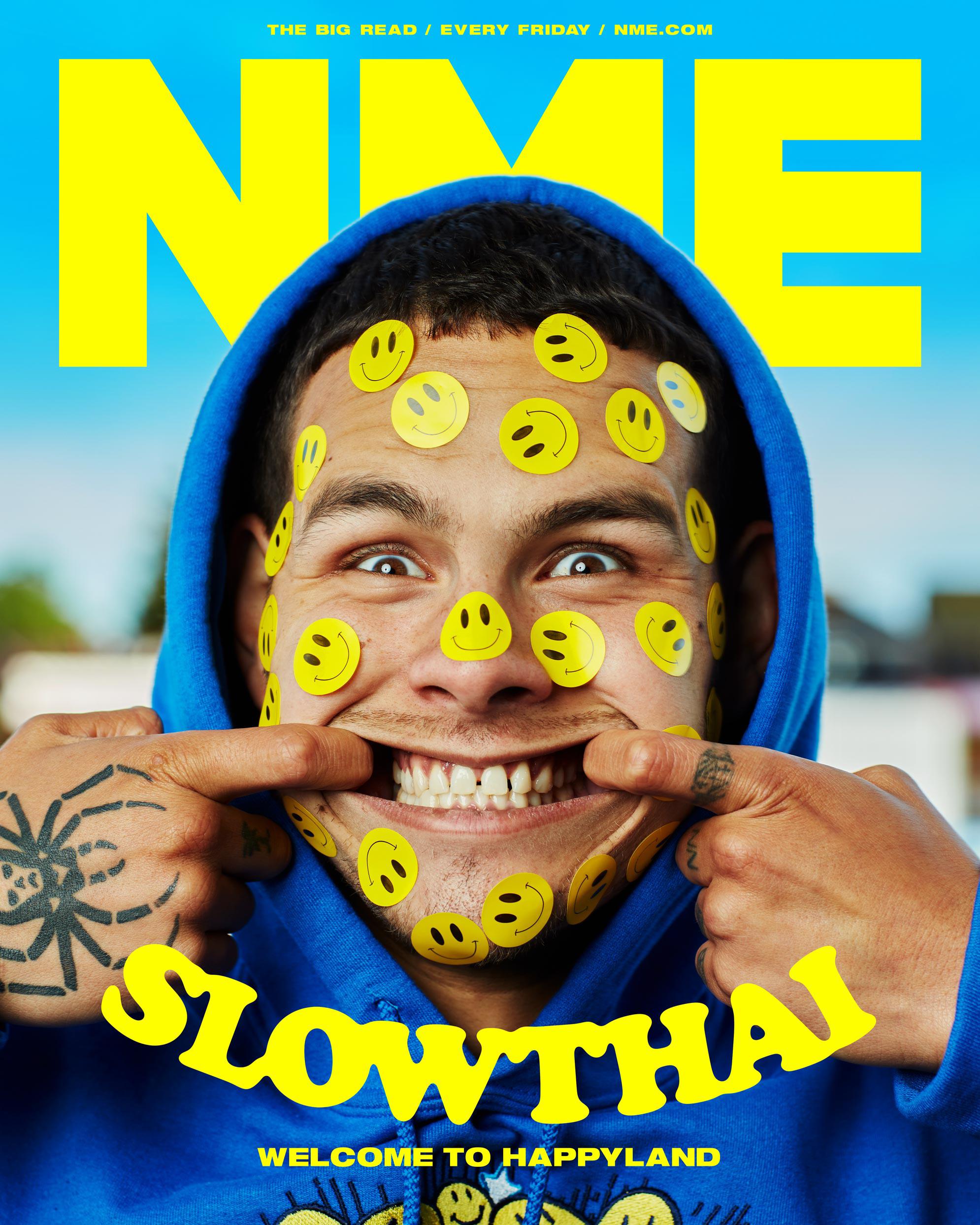 NME Cover 2021 Slowthai