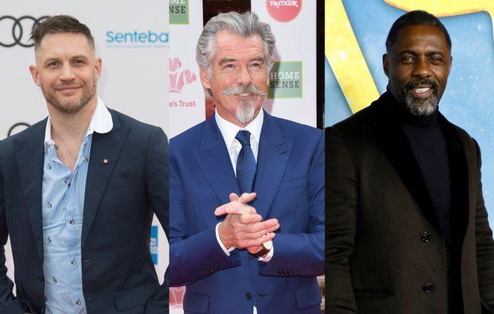 Tom Hardy Pierce Brosnan Idris Elba