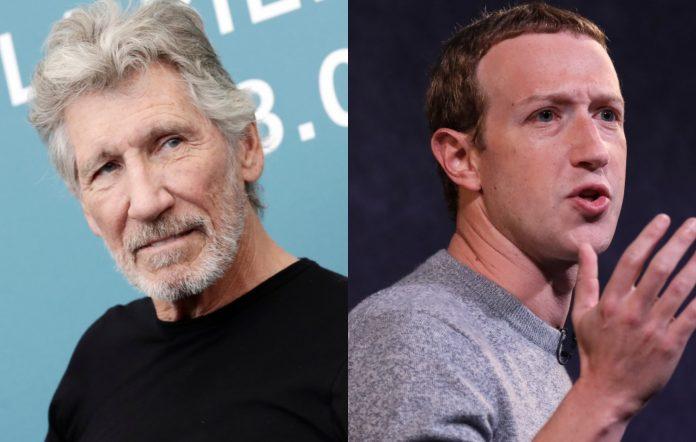 roger waters facebook mark zuckerberg