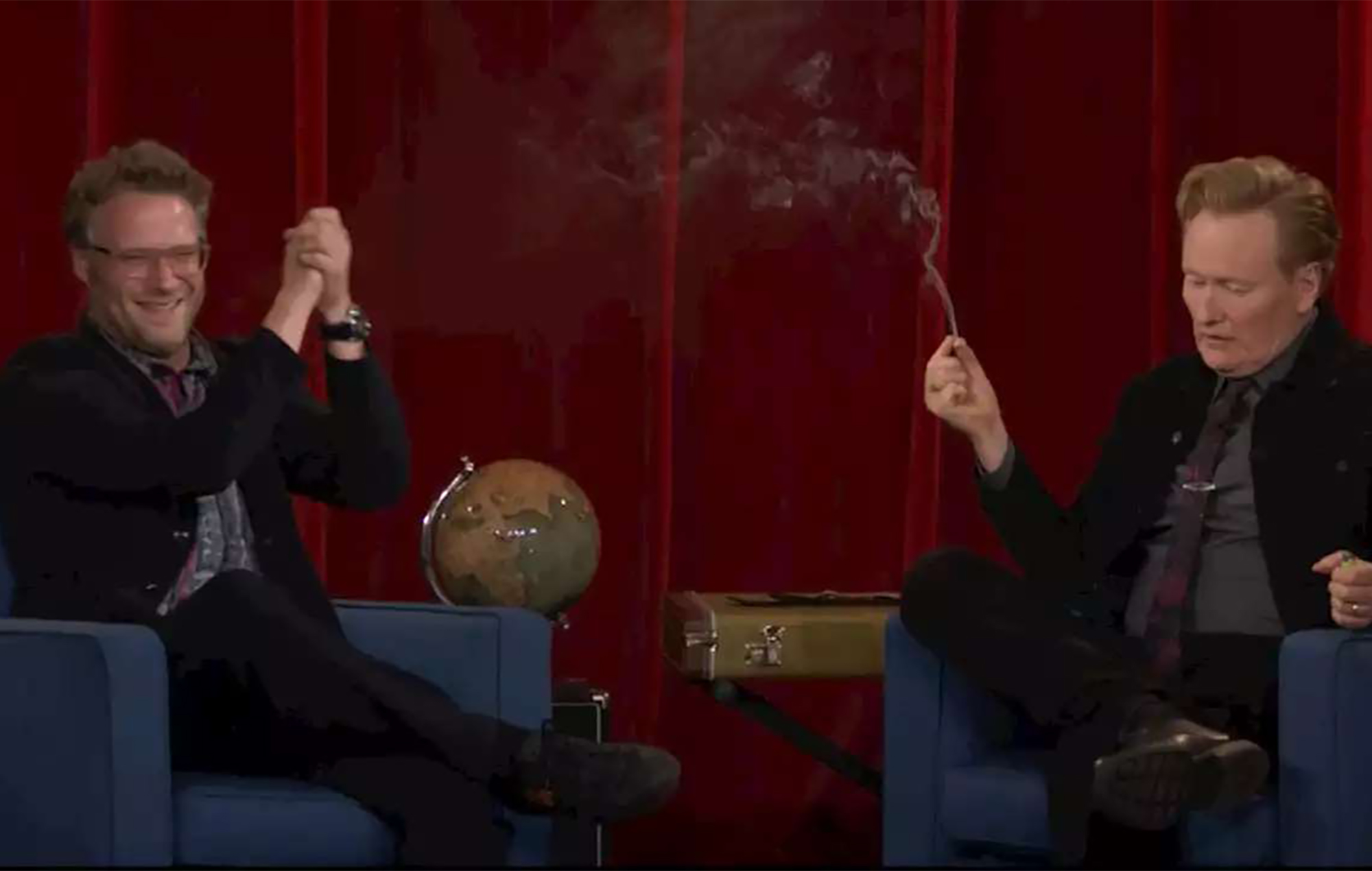 Seth Rogen Conan O'Brien
