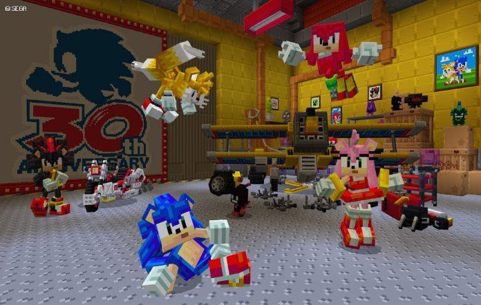 Sonic-Minecraft