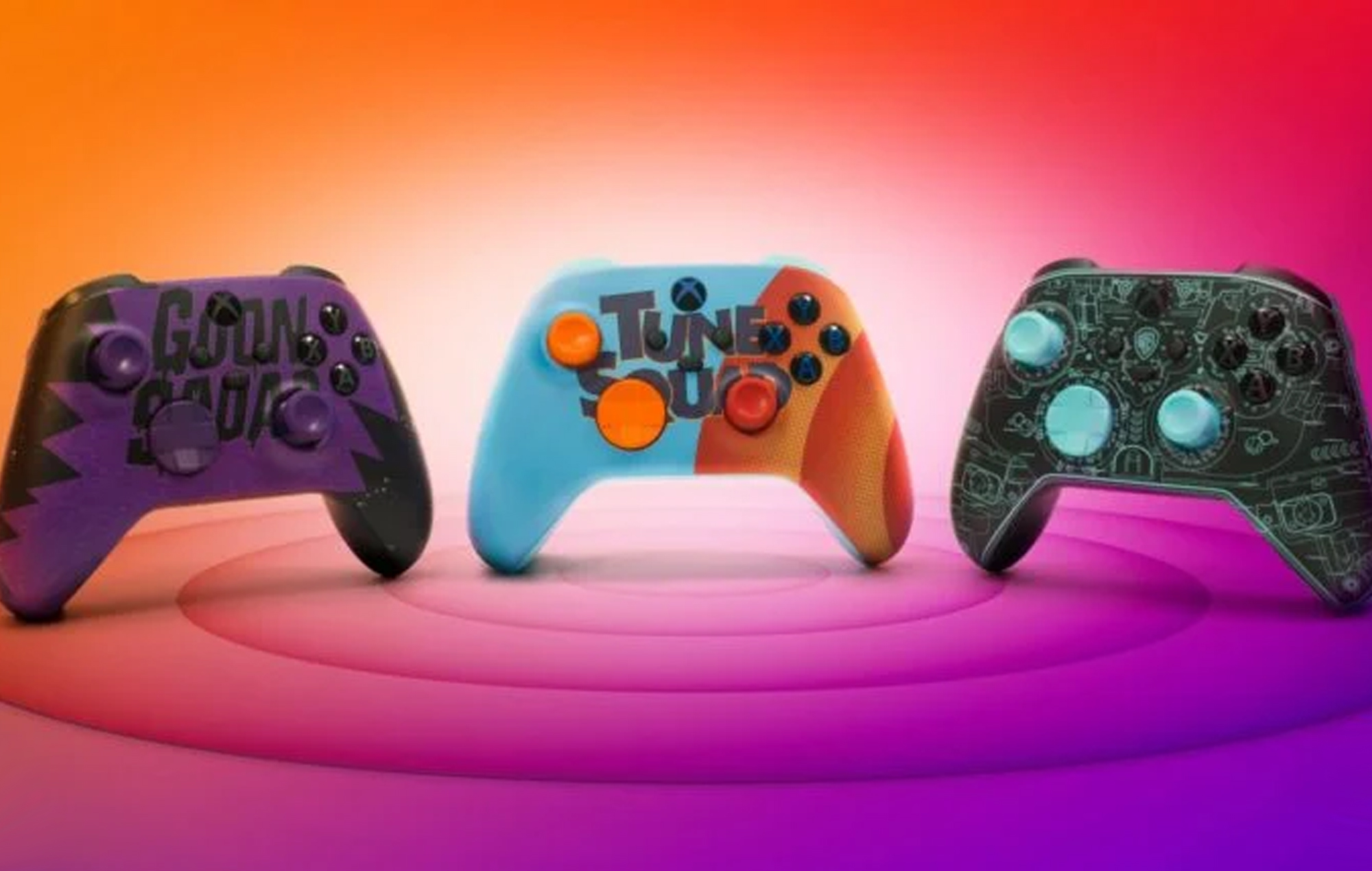 Space Jam Controllers