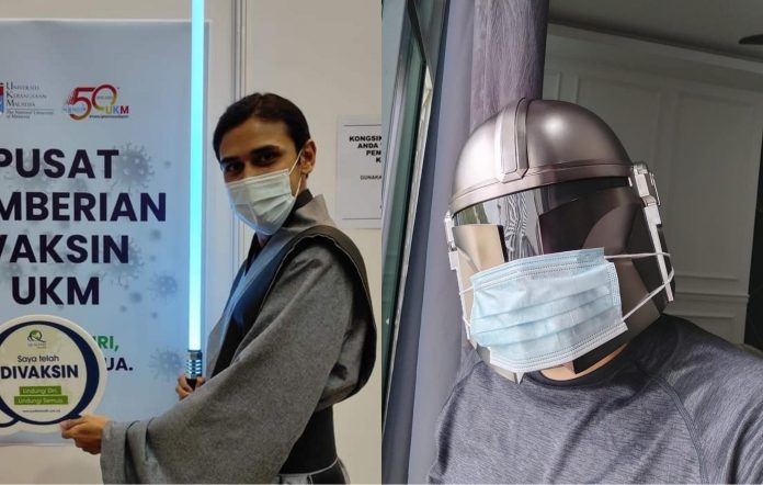 Star Wars fans dress up for vaccinations in Malaysia