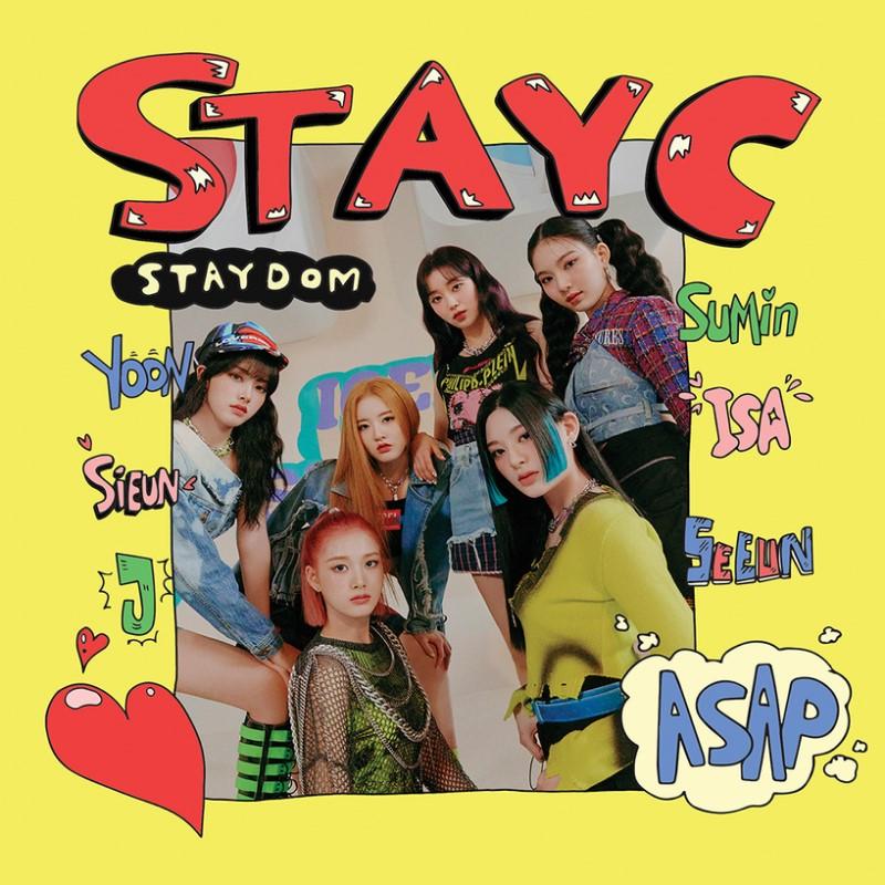 stayc staydom album cover