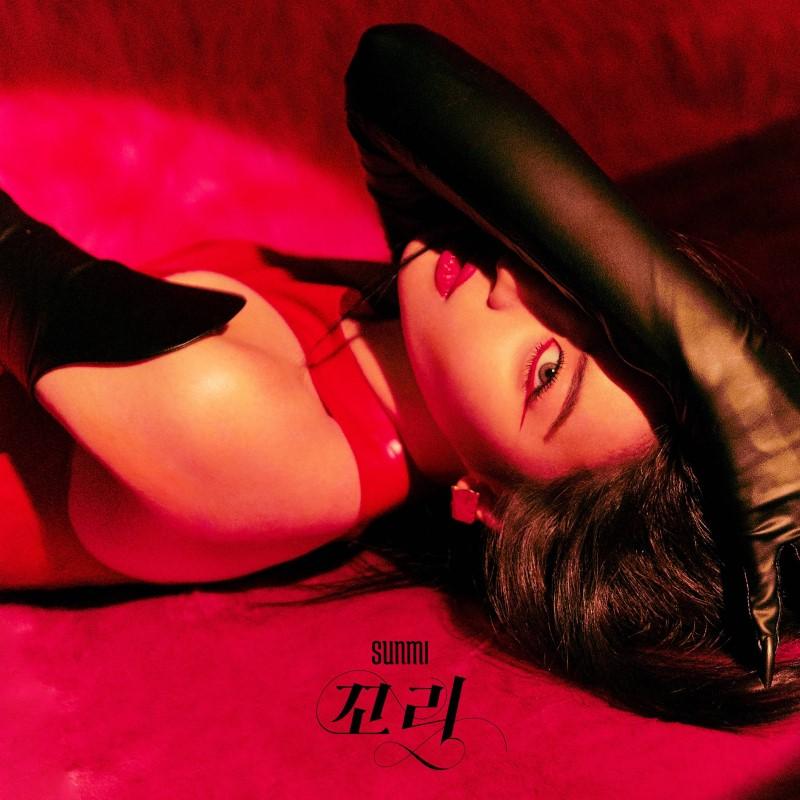 sunmi tail album cover
