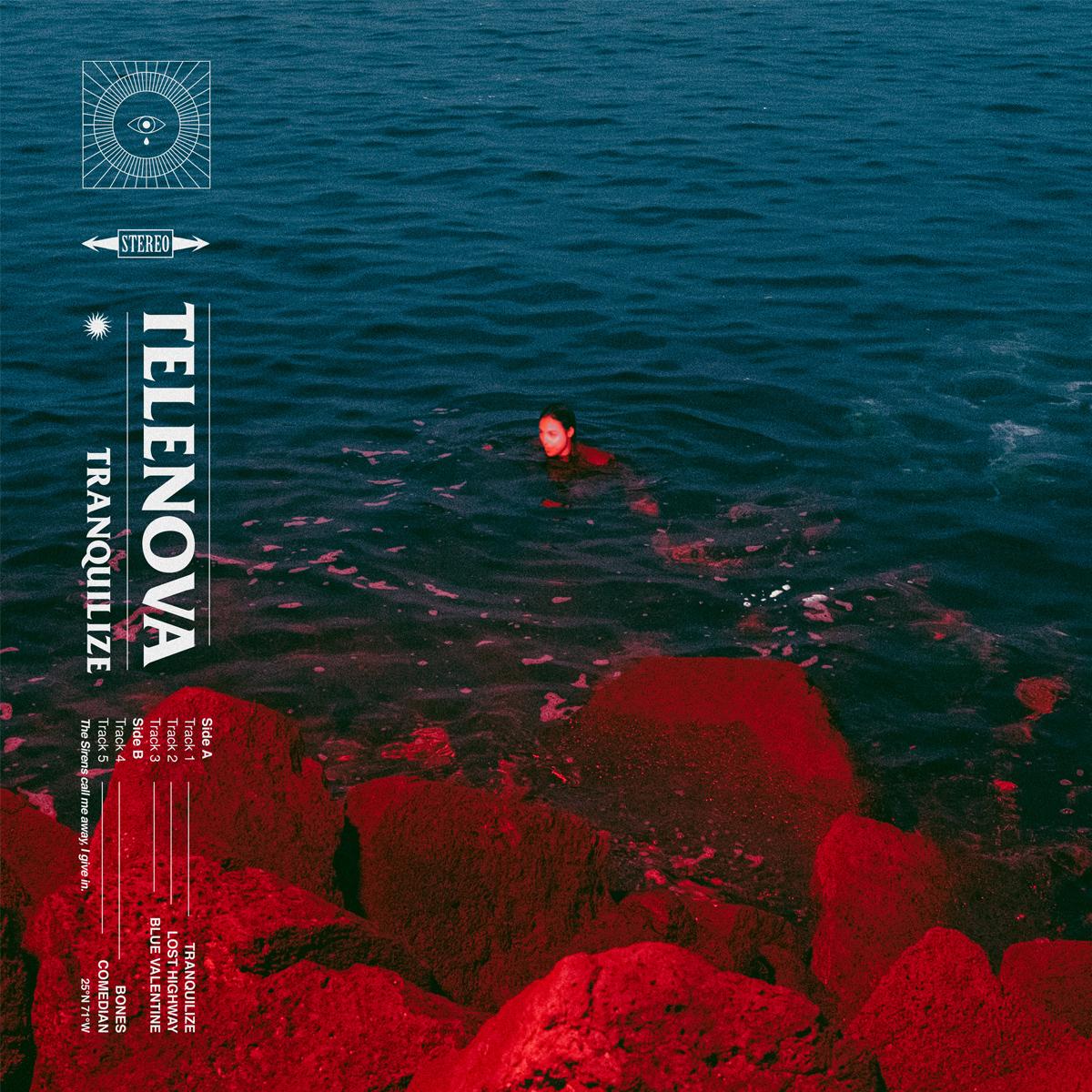 Telenova Tranquilize EP cover art 2021