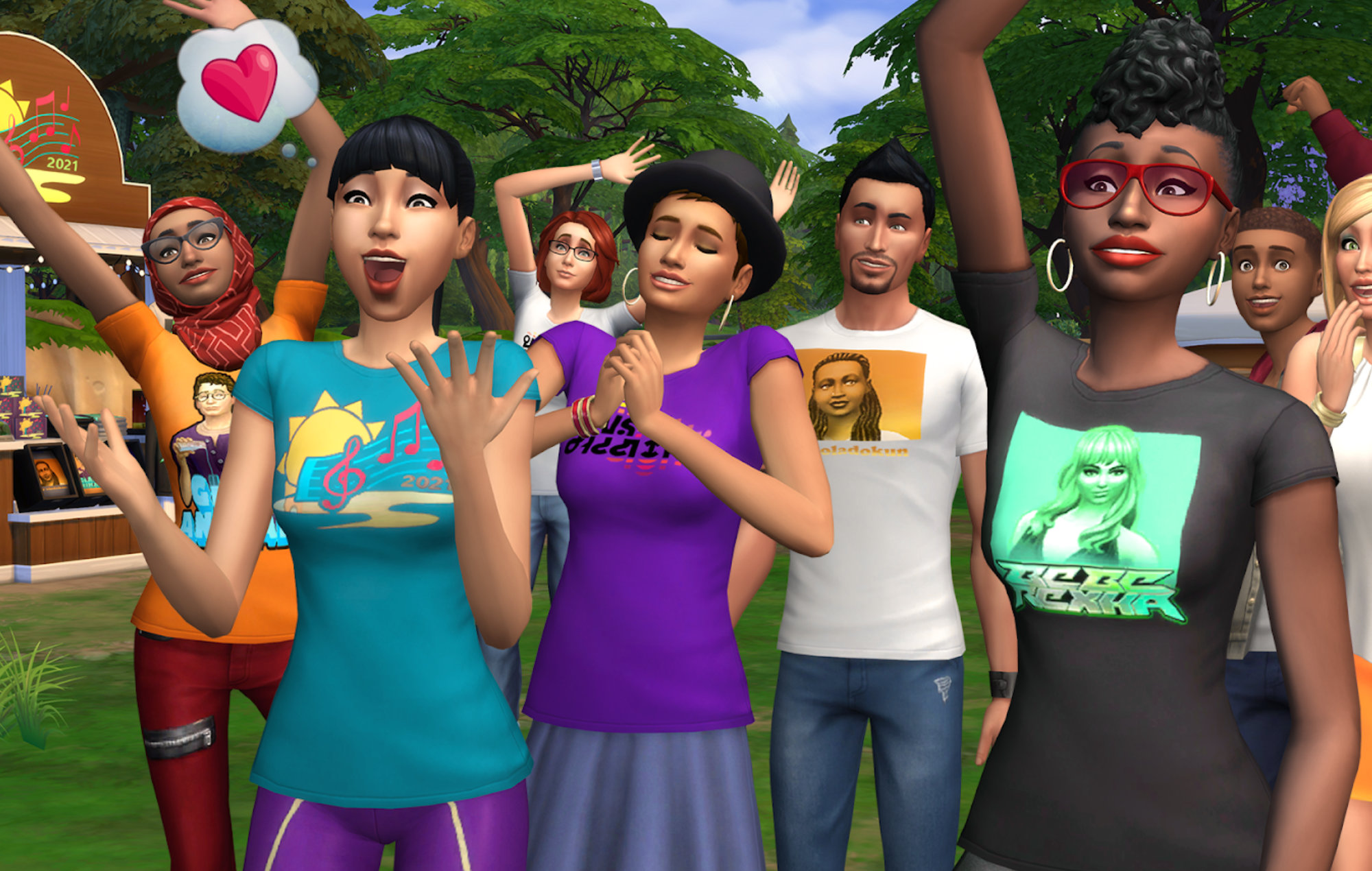 the sims concert