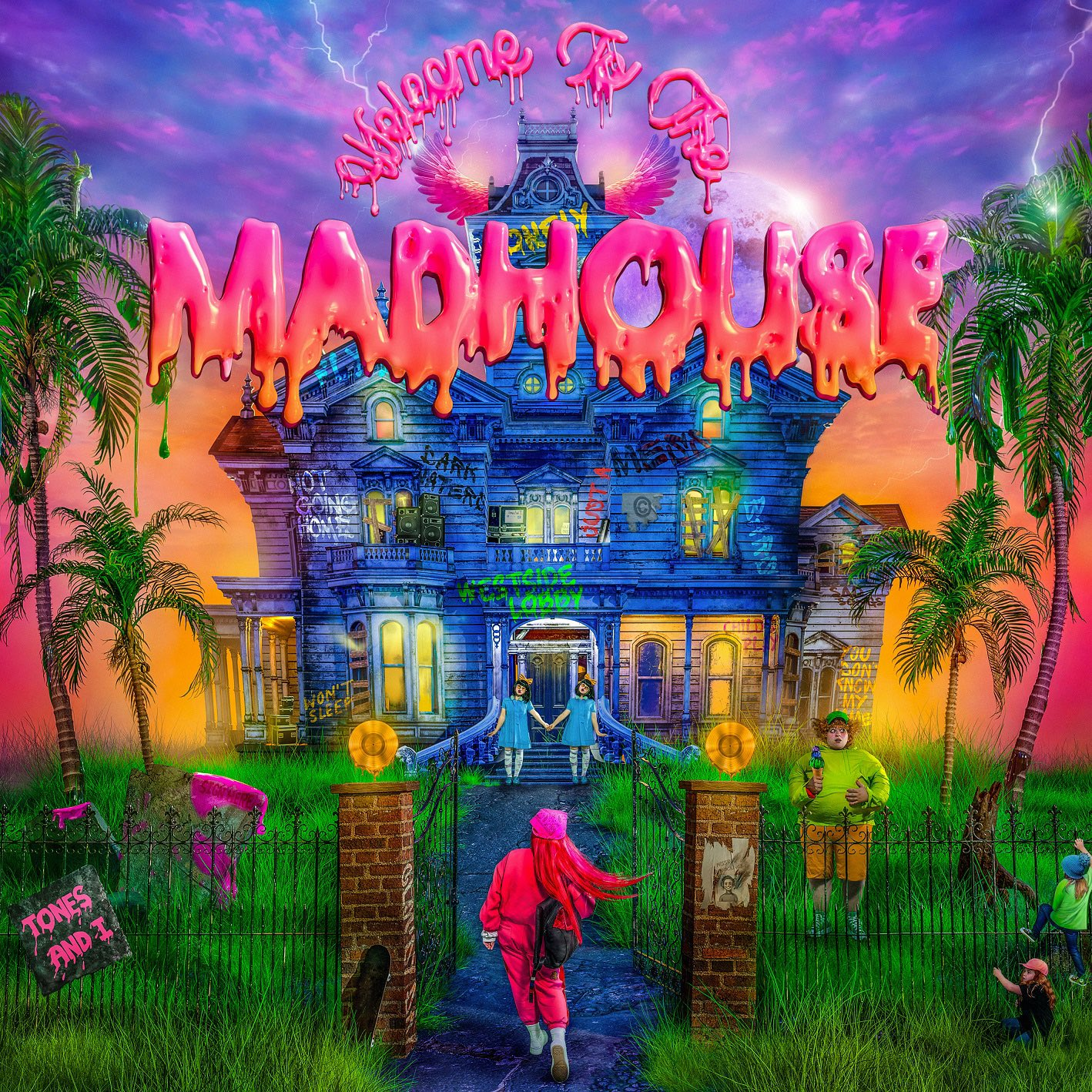Tones And I Welcome to the Madhouse album cover art 2021