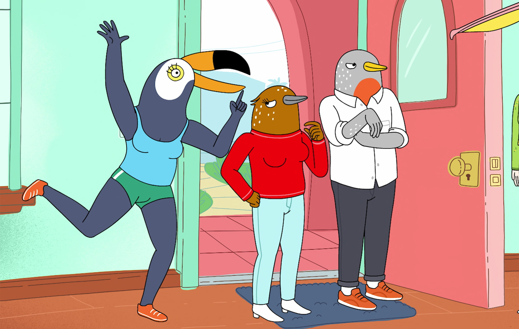 Watch the 'Tuca and Bertie' season 2 premiere on YouTube
