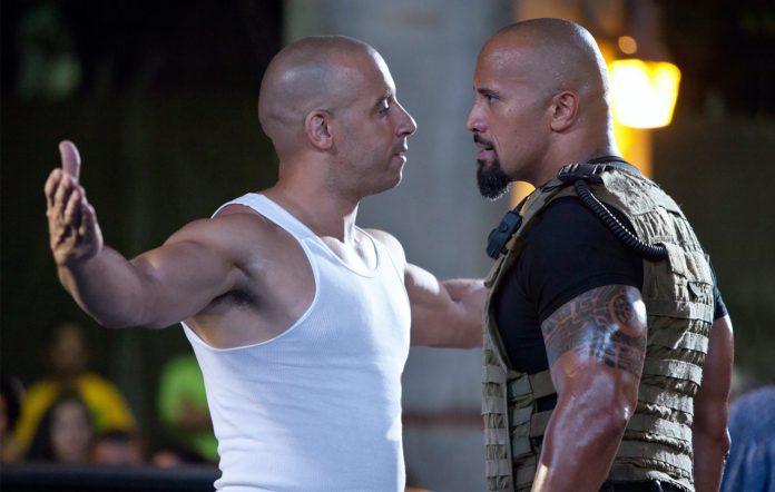 Vin Diesel Dwayne Johnson Fast Furious