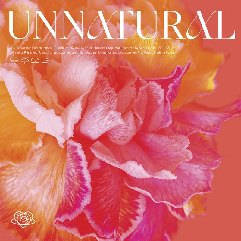 wjsn unnatural album cover