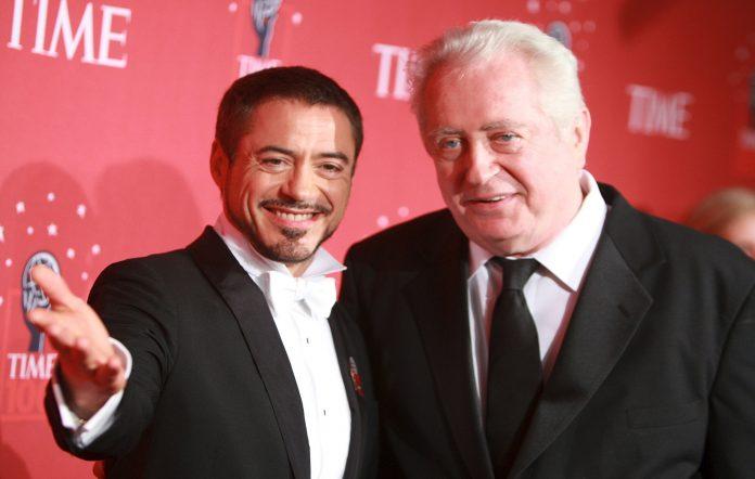 Actor Robert Downey Jr. and father Robert Downey Sr.