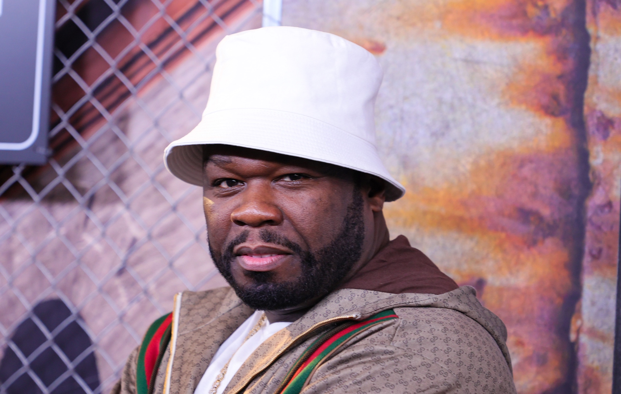 50 Cent at the premiere of 'Power Book III: Raising Kanan'