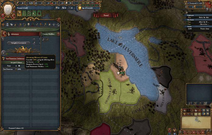 Anbennar EU IV mod. Image credit: Paradox Interactive