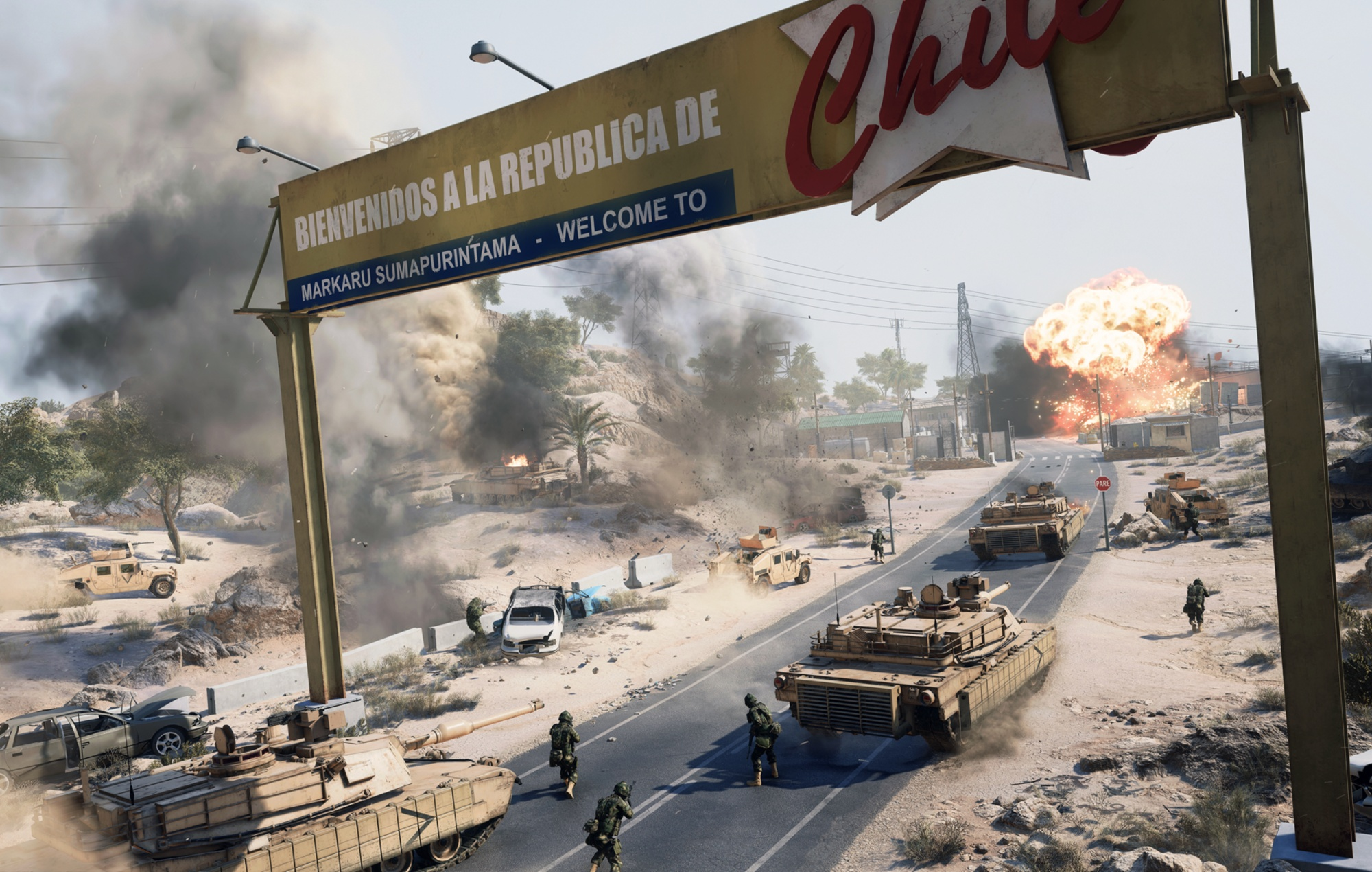 Battlefield 2042 Battlefield Portal mode