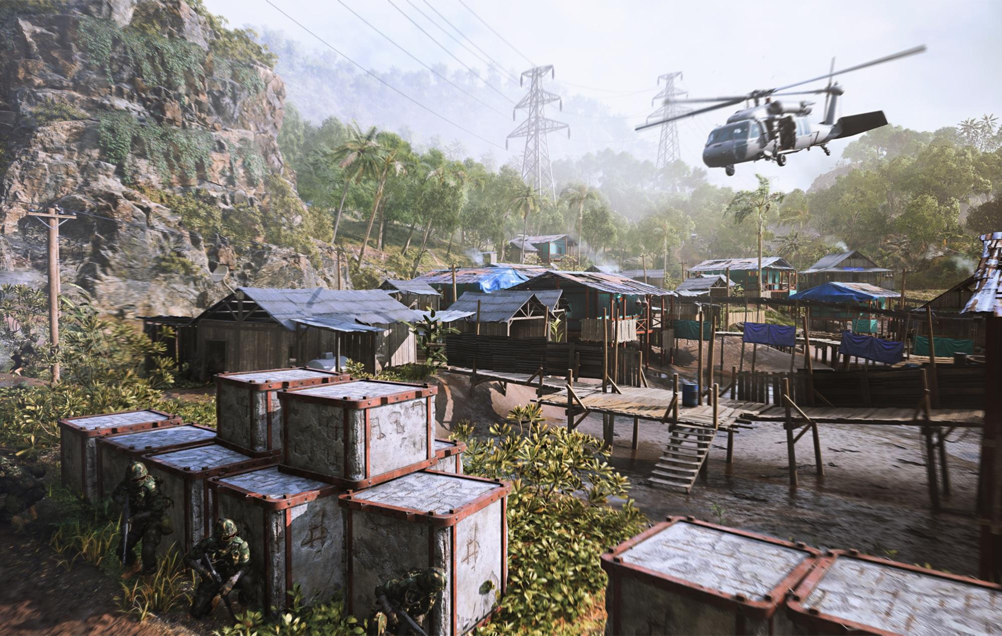 Battlefield 2042 remastered Bad company 2 map