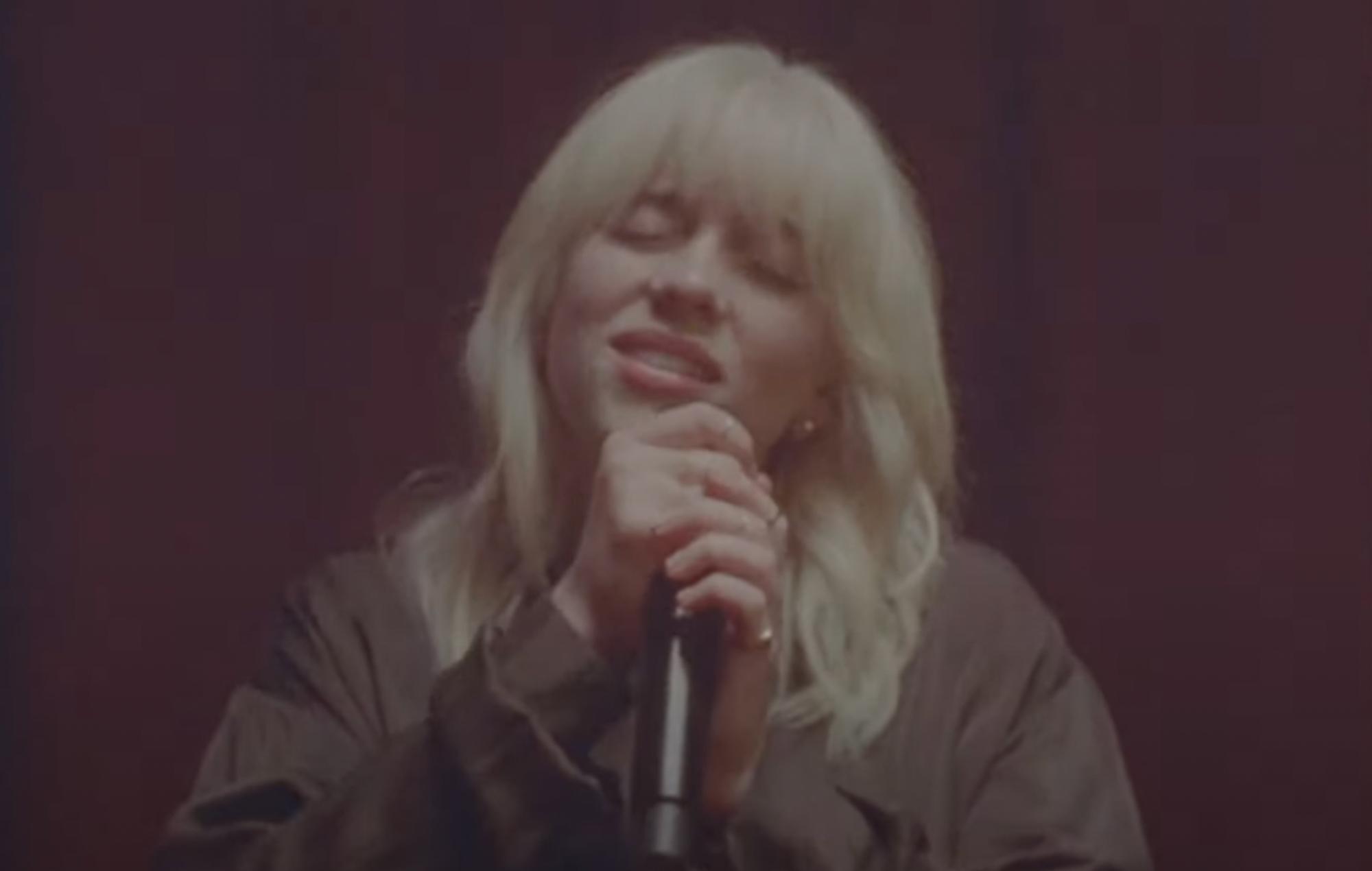 Billie Eilish drops 'NDA' live version