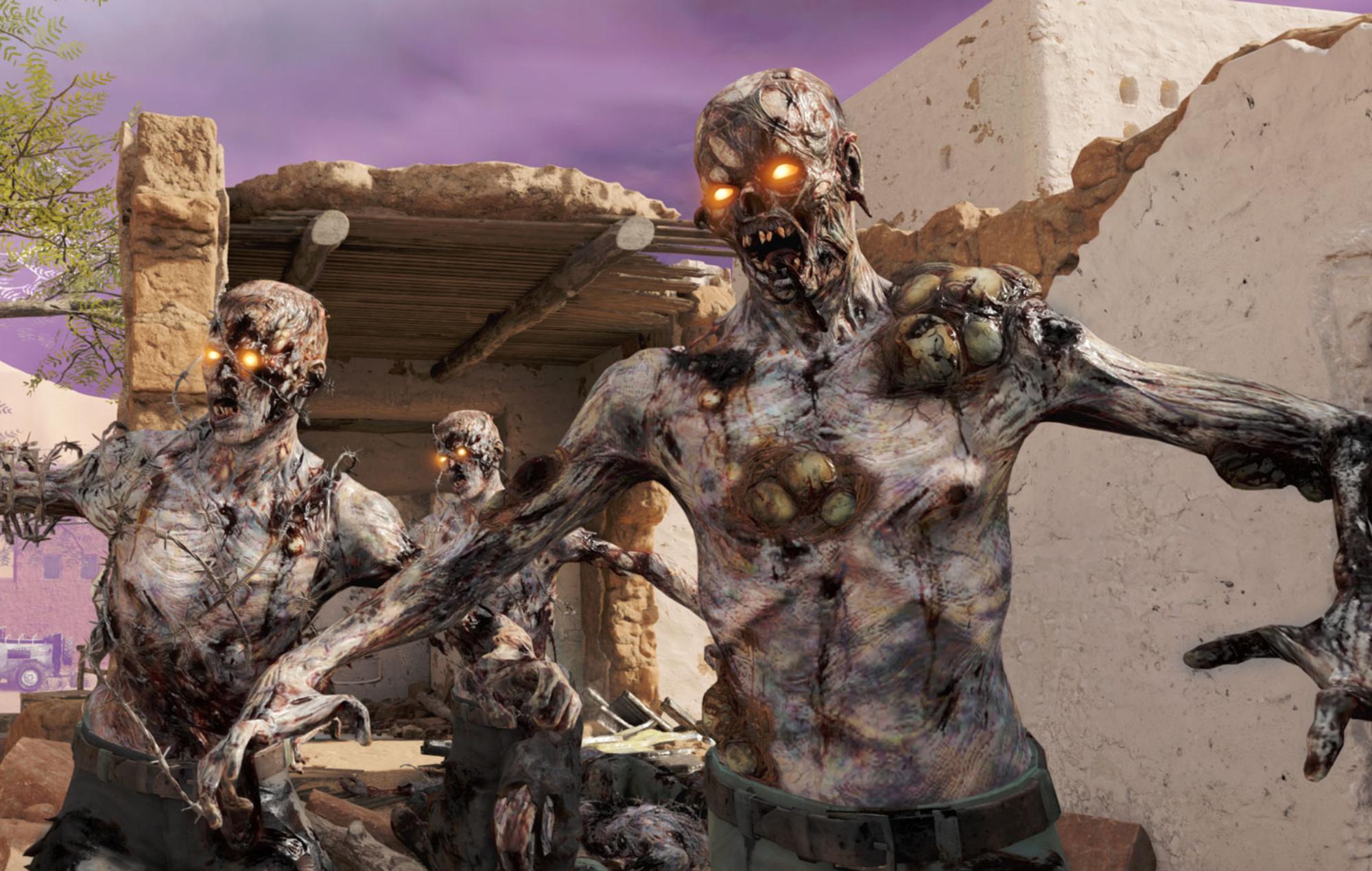Call Of Duty Season 4 Reloaded Update Zombies Screenshot