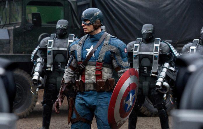 Chris Evans in 'Captain America - First Avenger'