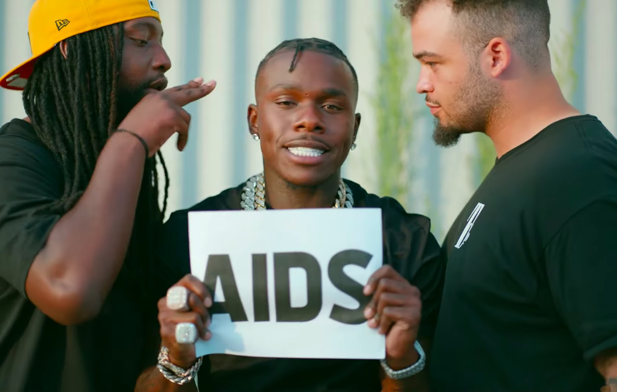 DaBaby in the 'Giving What It's Supposed to Give' video