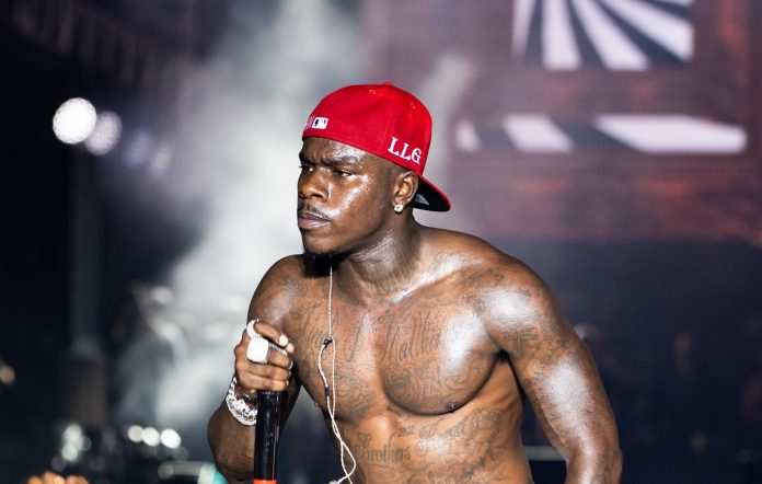 DaBaby performs at Rolling Loud Miami 2021