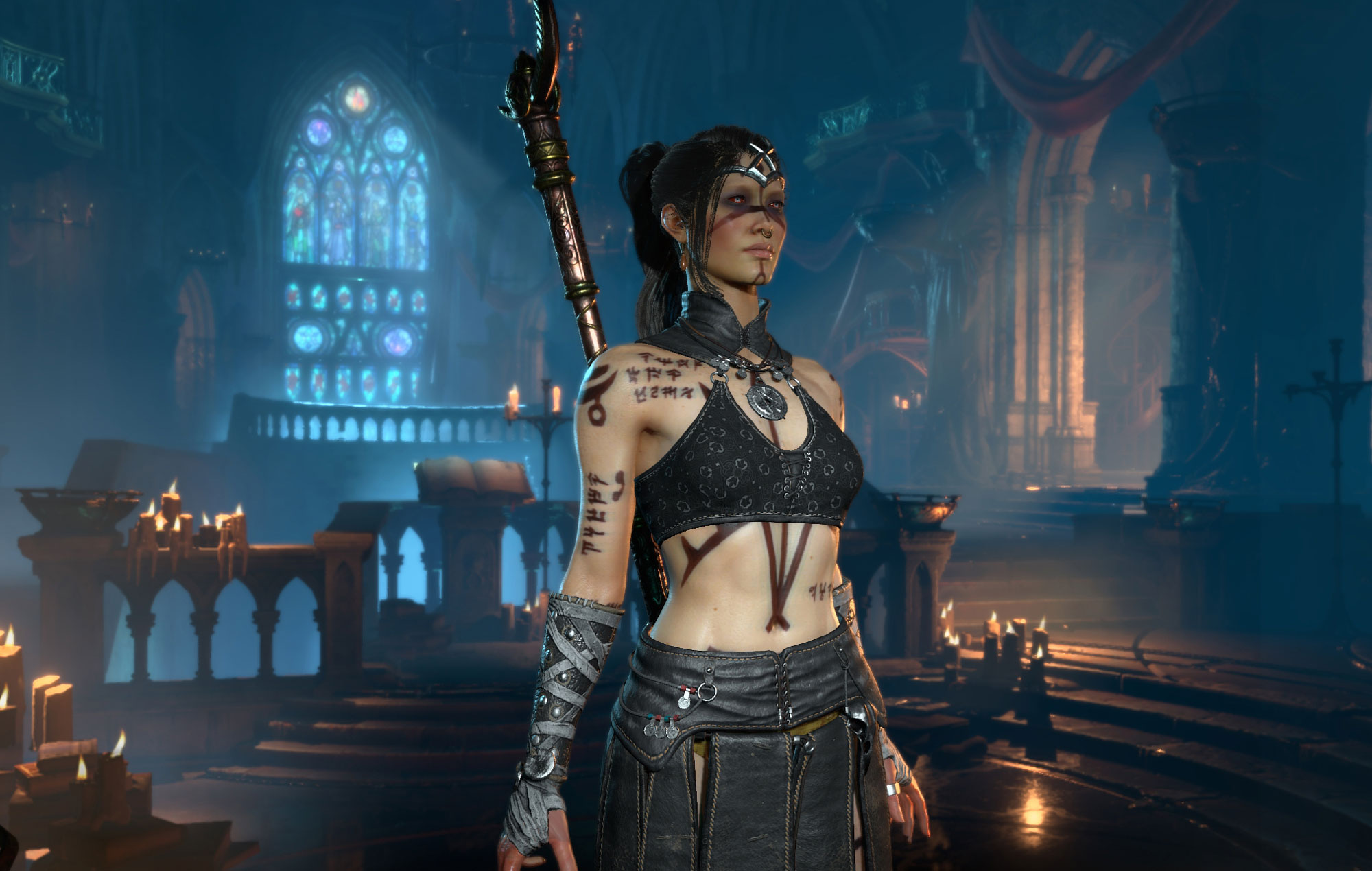 Diablo IV Female Barbarian