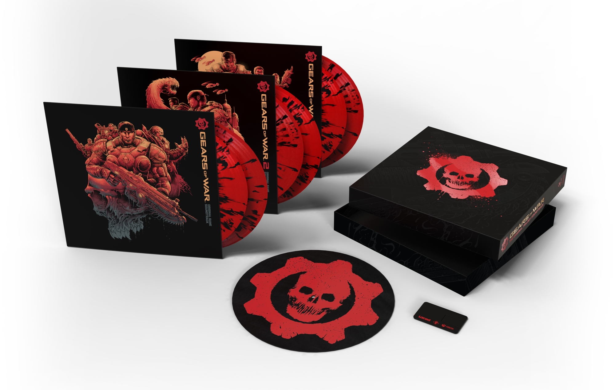 Gears of War: The Original Trilogy Soundtrack Special Limited Edition vinyl box set