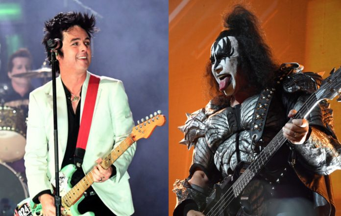 Green Day and KISS
