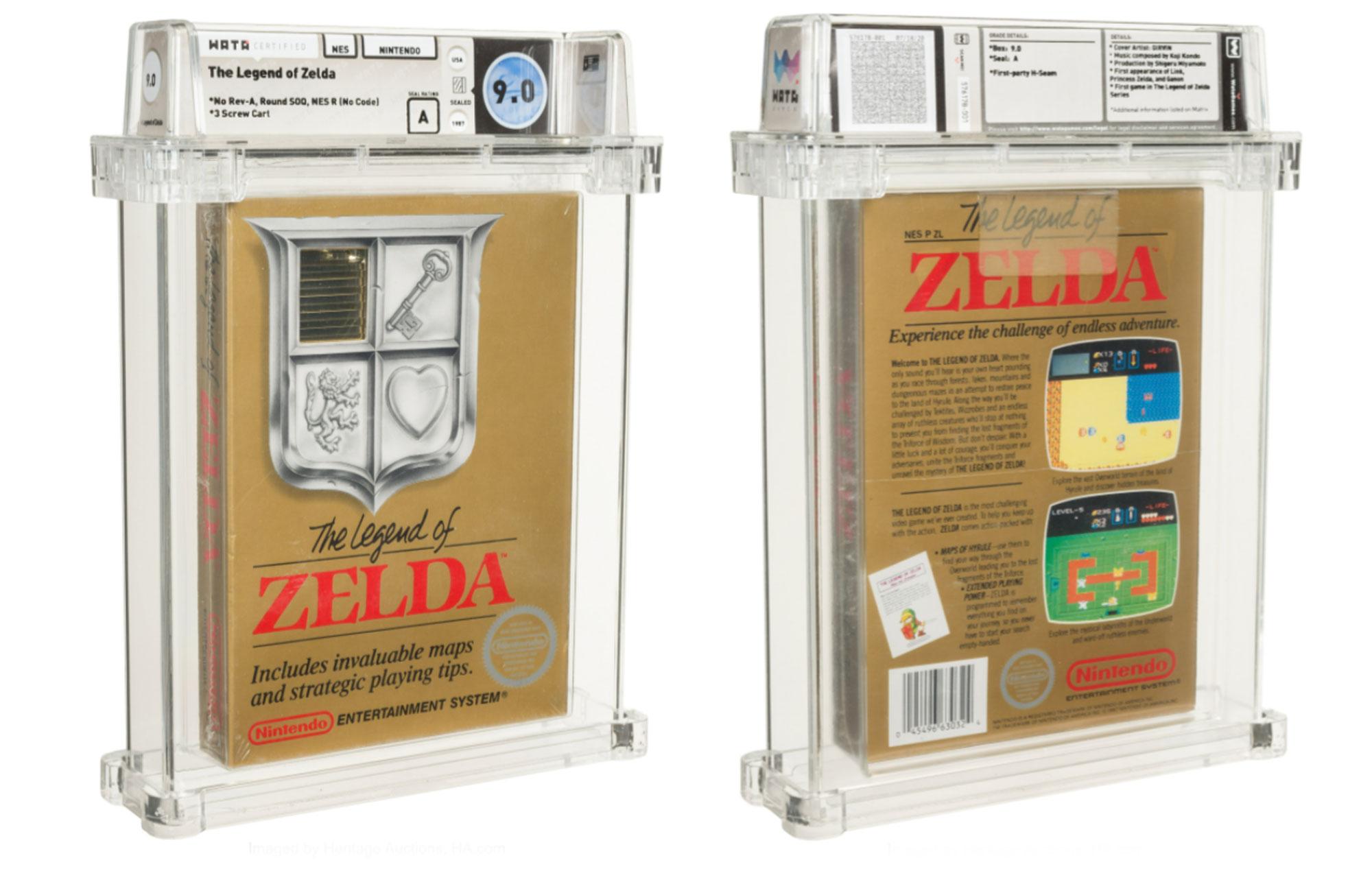 The Legend Of Zelda auction copy