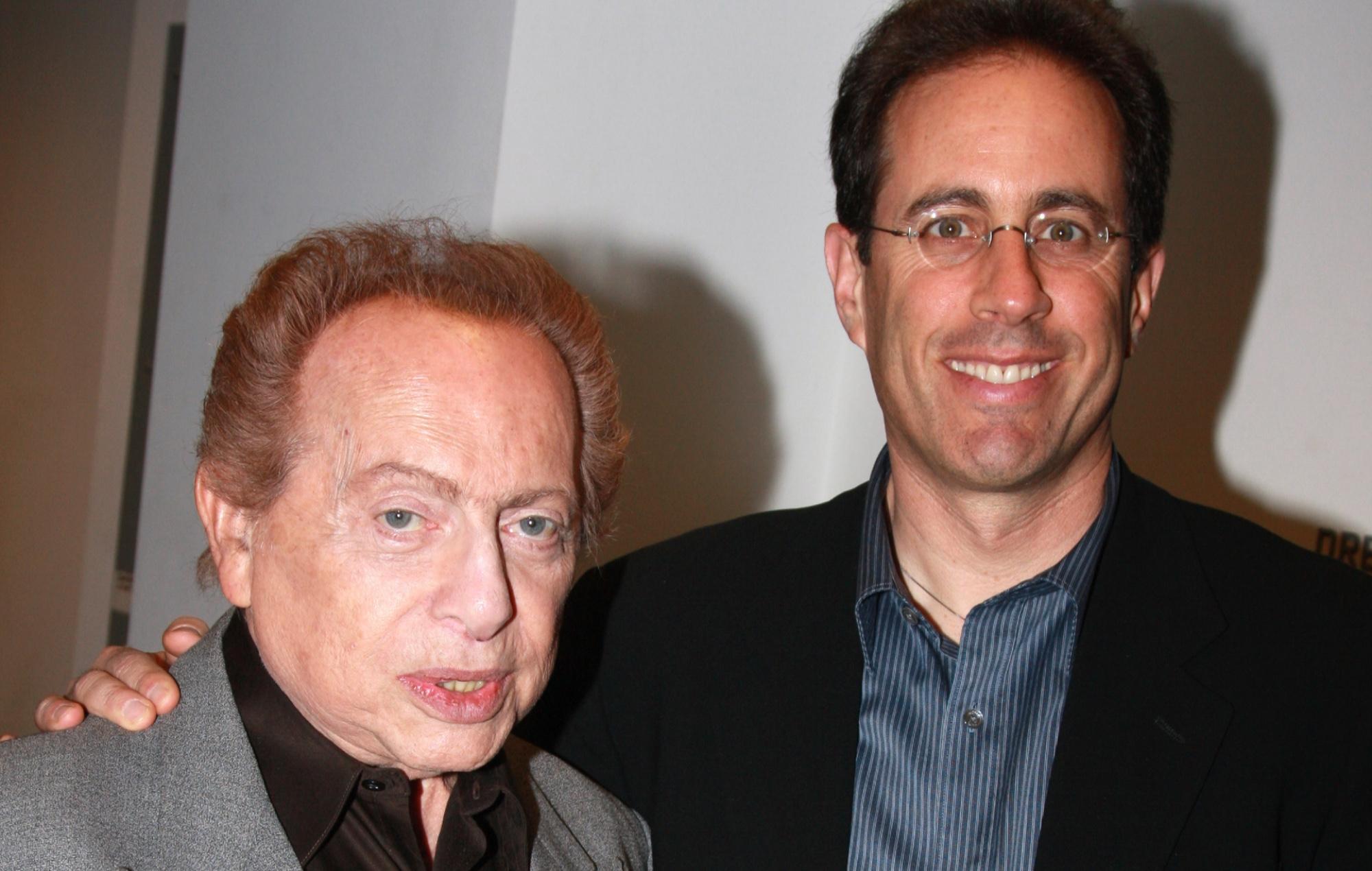 Jackie Mason and Jerry Seinfeld