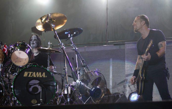 Joey Jordison Metallica