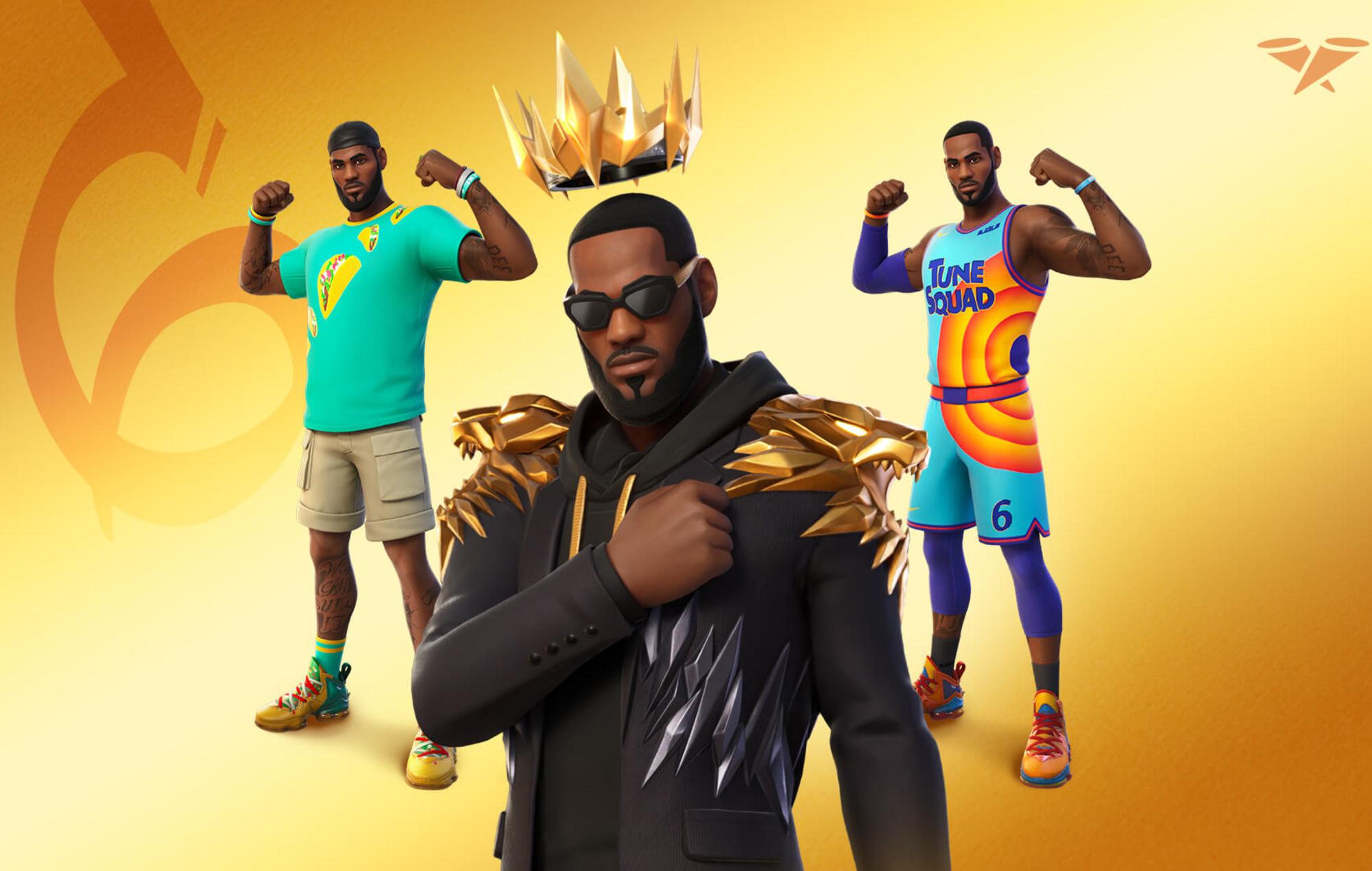 LeBron James joins Fortnite's Icon Series