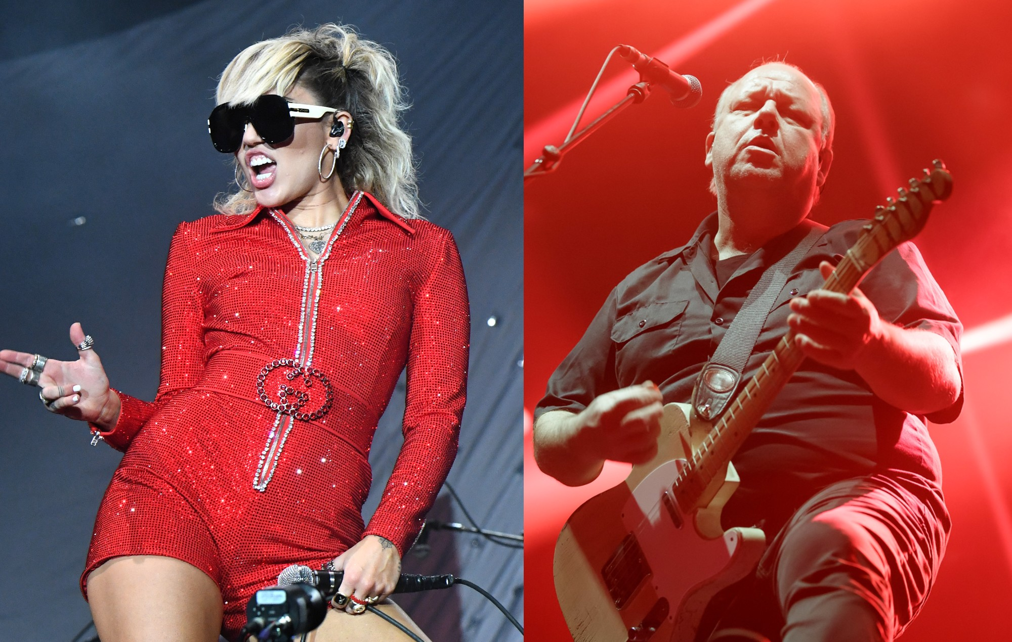 Miley Cyrus made a 'We Can't Stop' and the Pixies' 'Where Is My Mind?' medley for Lollapalooza - NME
