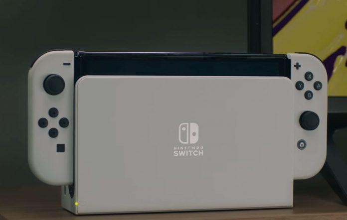 Nintendo Switch OLED Model lightup