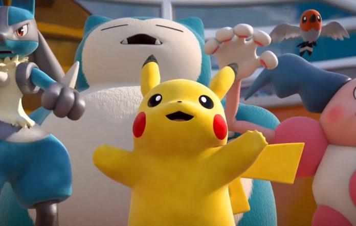 Pokemon Unite Trailer Screenshot