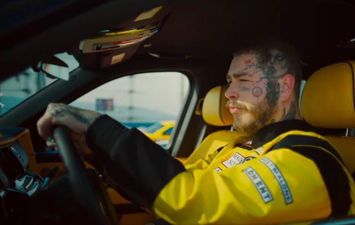 Post Malone in the Motley Crew video