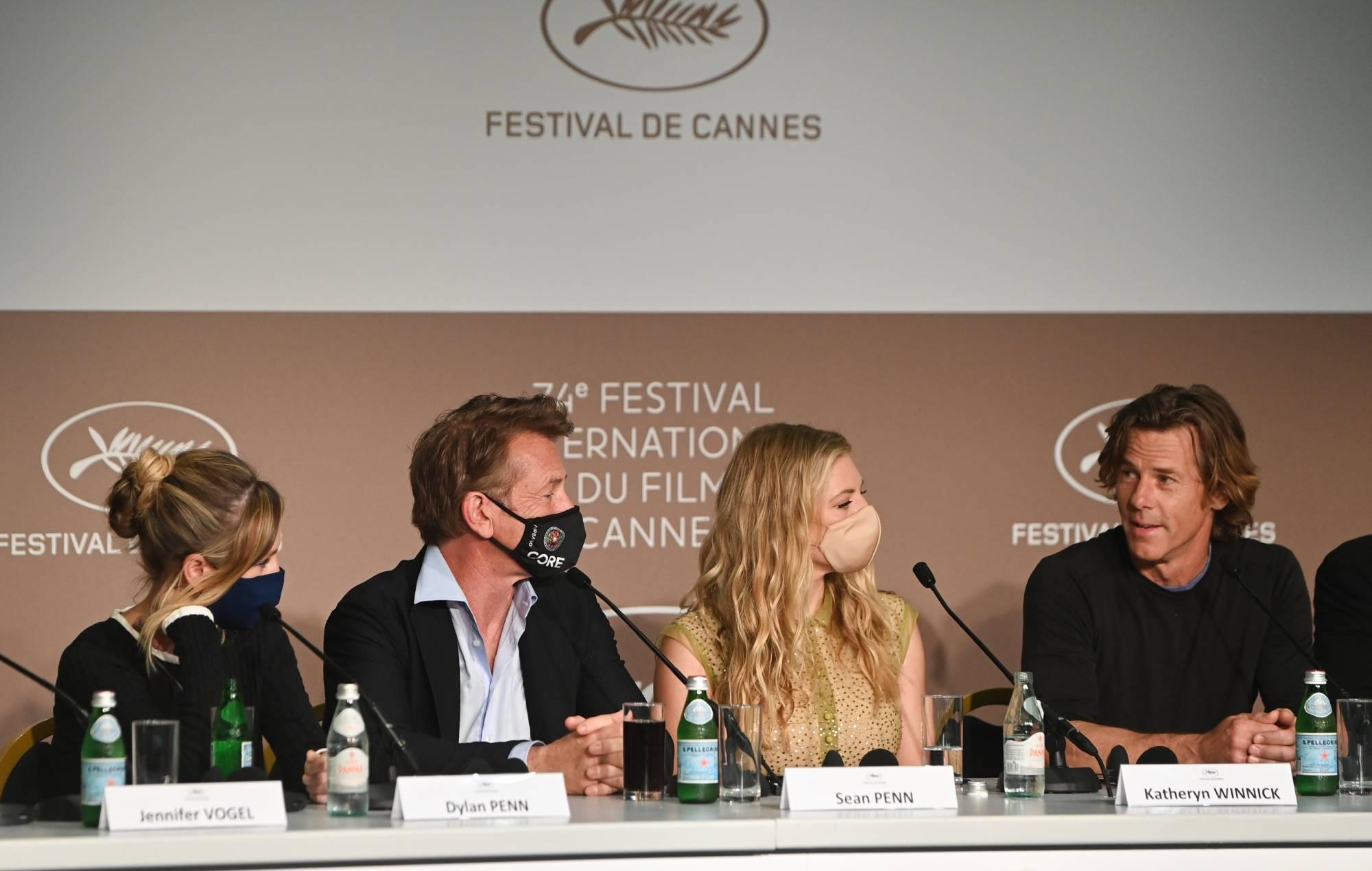 Sean Penn Cannes 2021