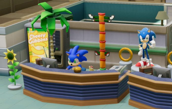Sonic in hospital