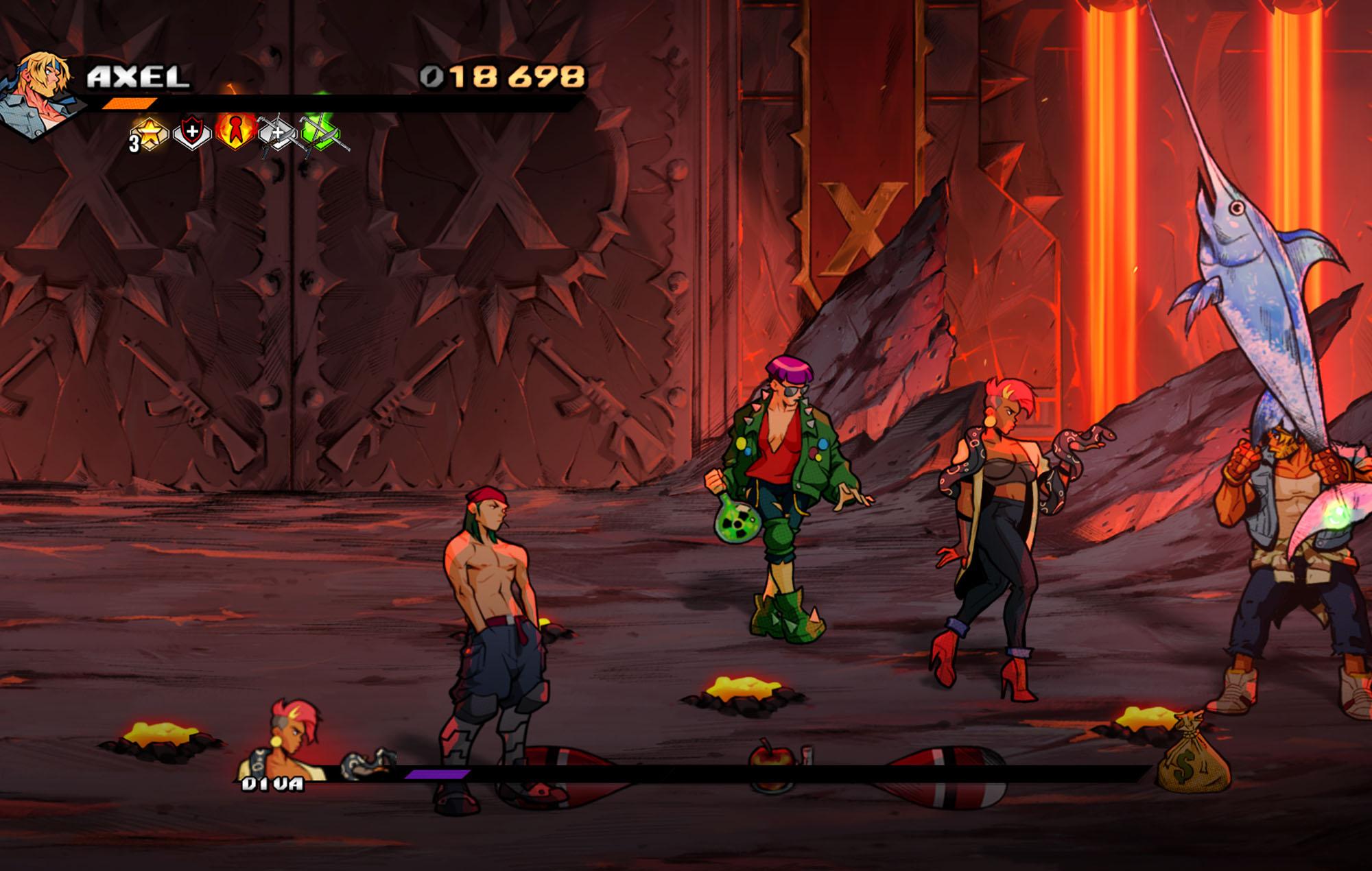 Streets of Rage 4 - Mr X Nightmare DLC