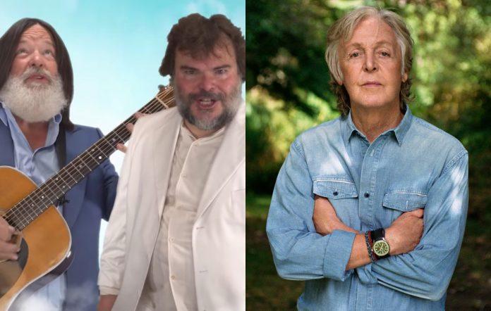 Tenacious D and Paul McCartney