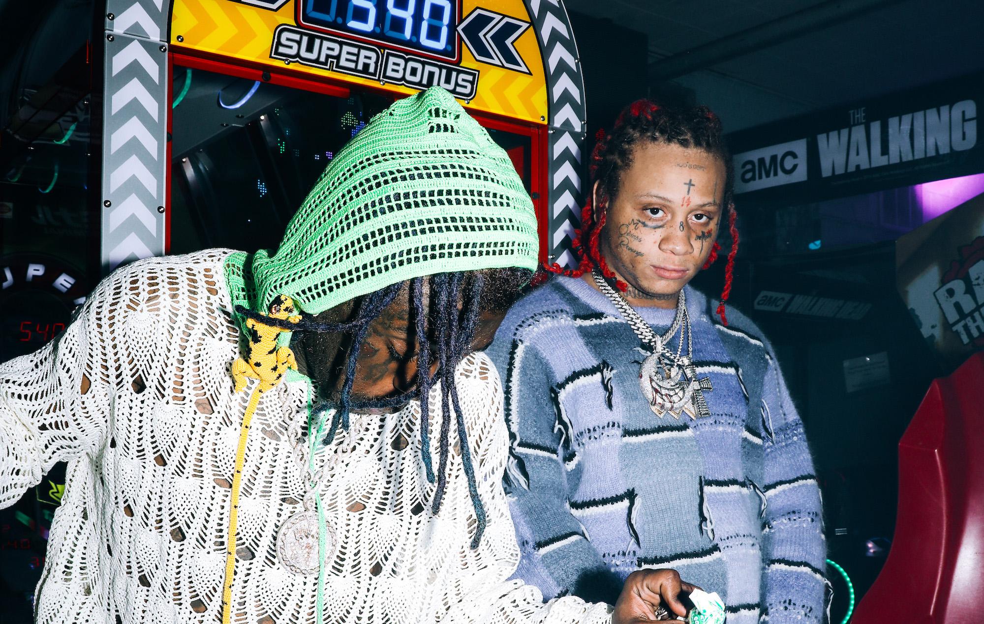 Trippie Redd links up with Lil Uzi Vert for poppy new single 'Holy Smokes'