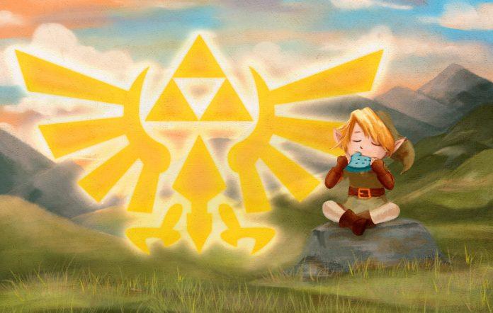 The Legend of Zelda Illustration