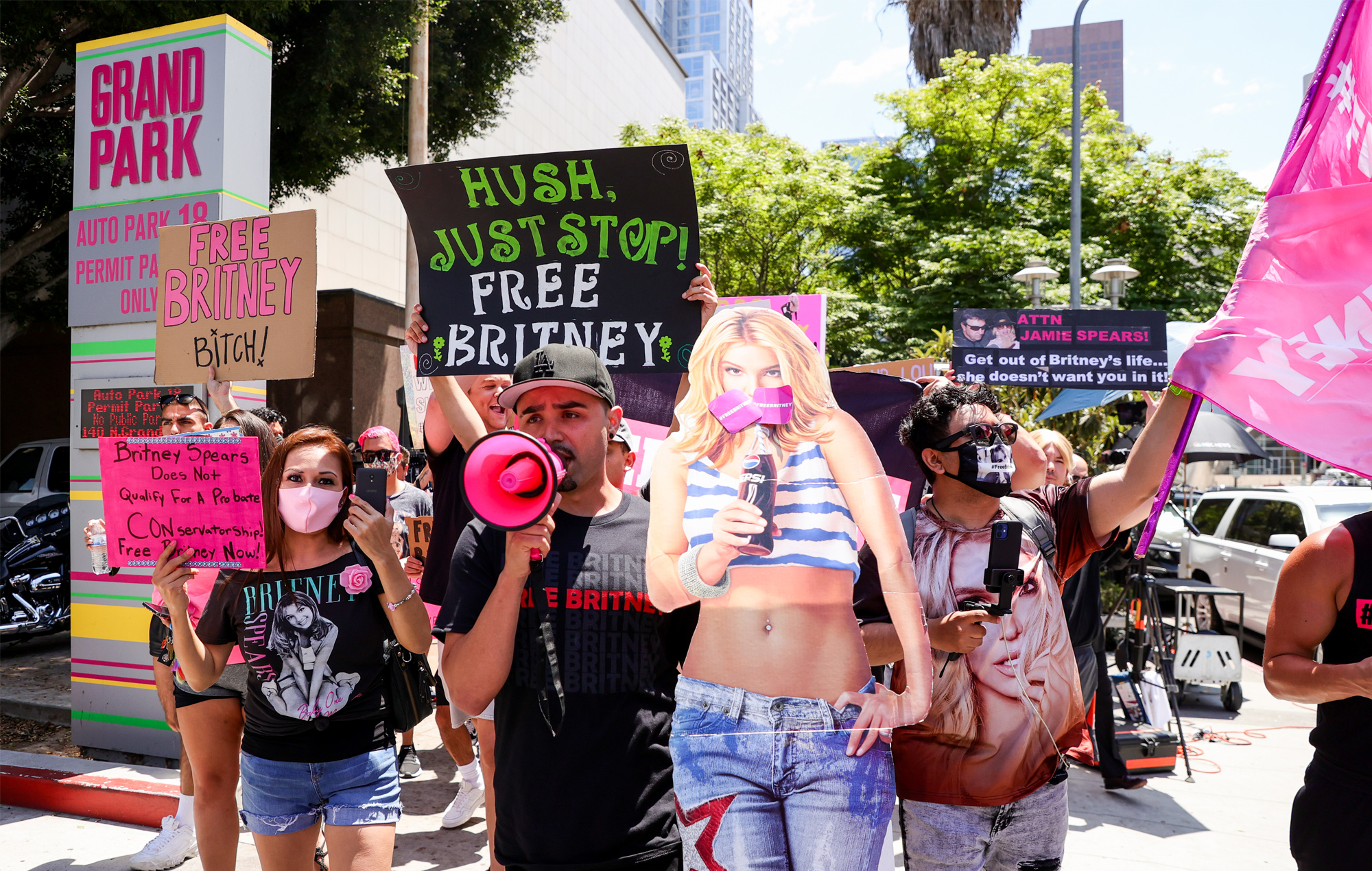 ACLU rights organisations file brief supporting Britney Spears wish to hire her own lawyer conservatorship FreeBritney