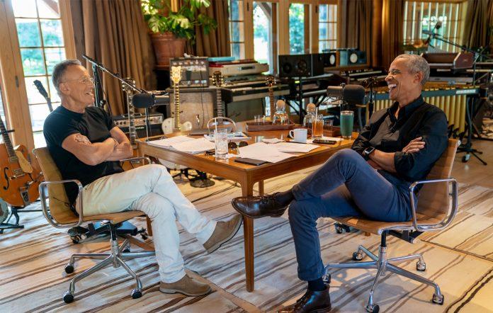 Barack Obama Bruce Springsteen Renegades podcast turning into a book