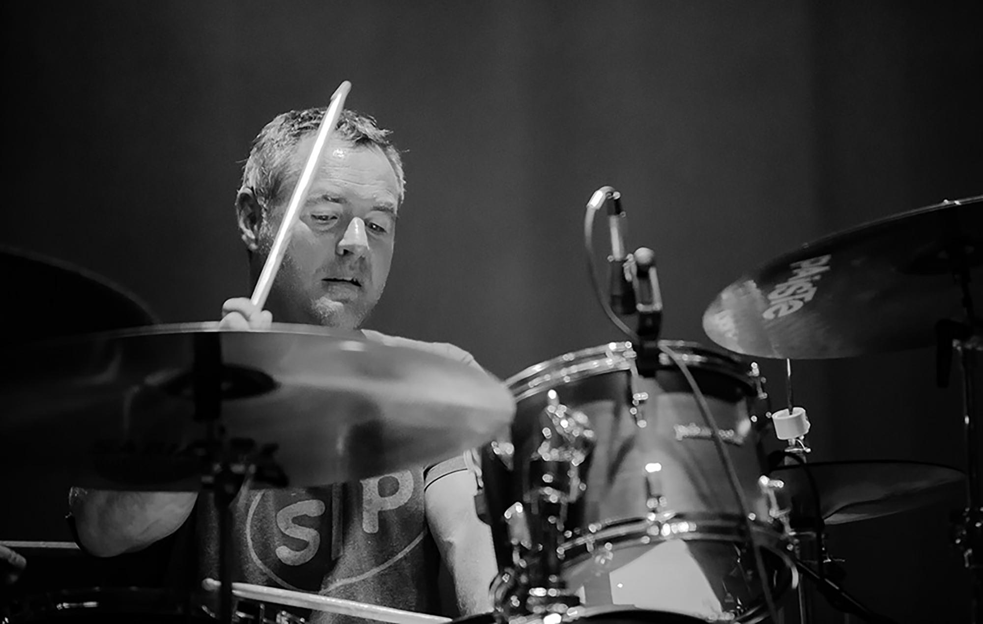 Hum drummer Bryan St. Pere
