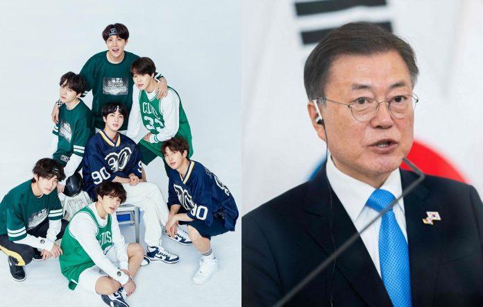 bts moon jae in special envoy